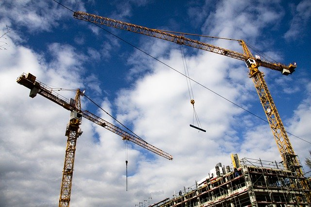 site crane